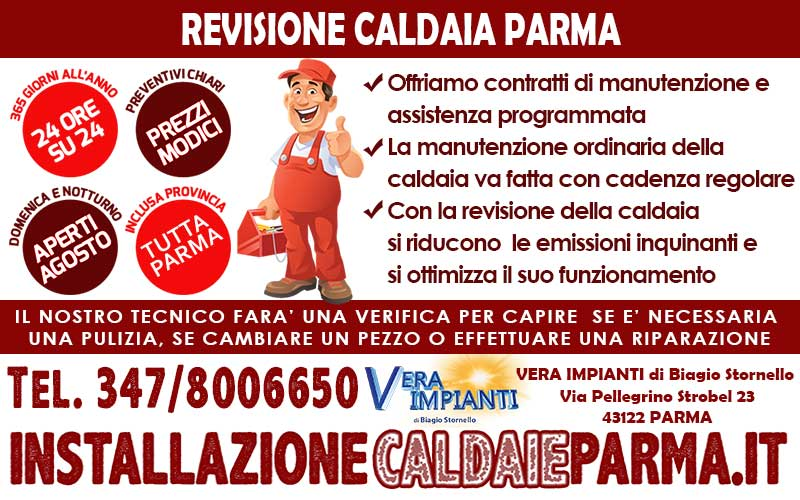 Revisione caldaia parma for Revisione caldaia