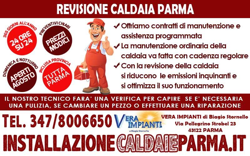 Revisione caldaia parma for Controllo fumi caldaia